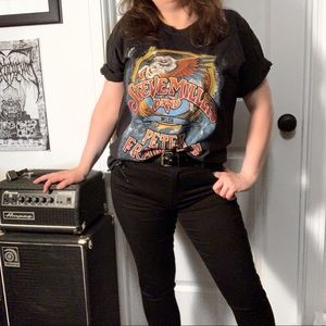 Steve Miller / Frampton Tour Graphic Band T-shirt